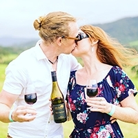 Valentines Day Winery Tour