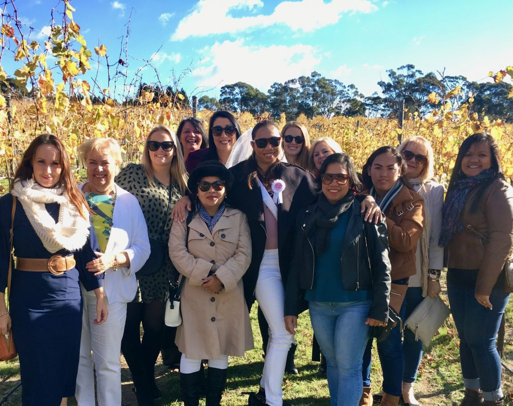 Autumn Southern Highlands Winery Tour