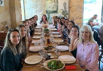 A big group enjoying a Southern Highlands Winery Tour